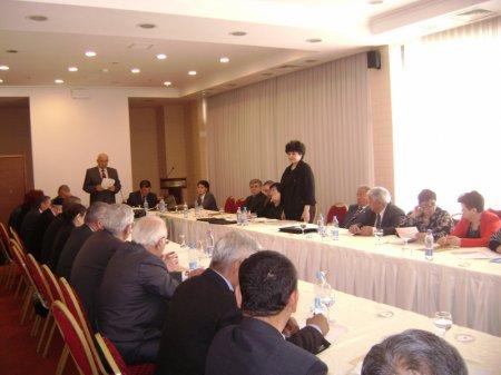Ўзбекистон врачлар Ассоциациясининг 2011 йилга бағишланган кенгаш йиғилиши.